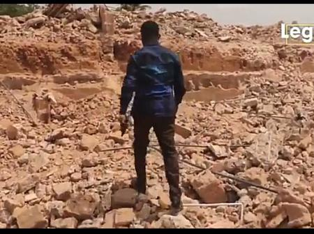 Man Cries Out After His House Worth N700million Was Demolished In Enugu State (Video)