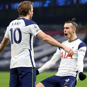 EPL Update: How Bale and Kane teamed up to humiliate Crystal Palace 4-1 last night