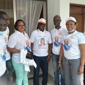 Législatives 2021 : Noufe Michel soutient la caravane de la victoire pour le compte du RHDP