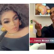 I Don't Recognize Bobrisky As The Queen, Denrele Edun Is The Only Person I Respect- James Brown