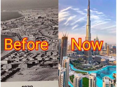Nigeria Will Be Great, Checkout Before And After Pictures Of Dubai That Gives Me Hope