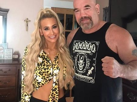 Meet Carmella's Dad Paul Van Dale who was a professional wrestler in the 80's