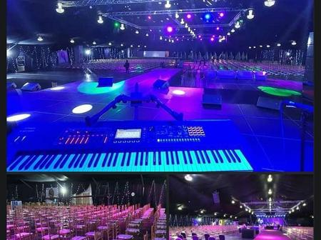 Here Is How The Event Center For Burna Boy Home Coming Concert Looks Like