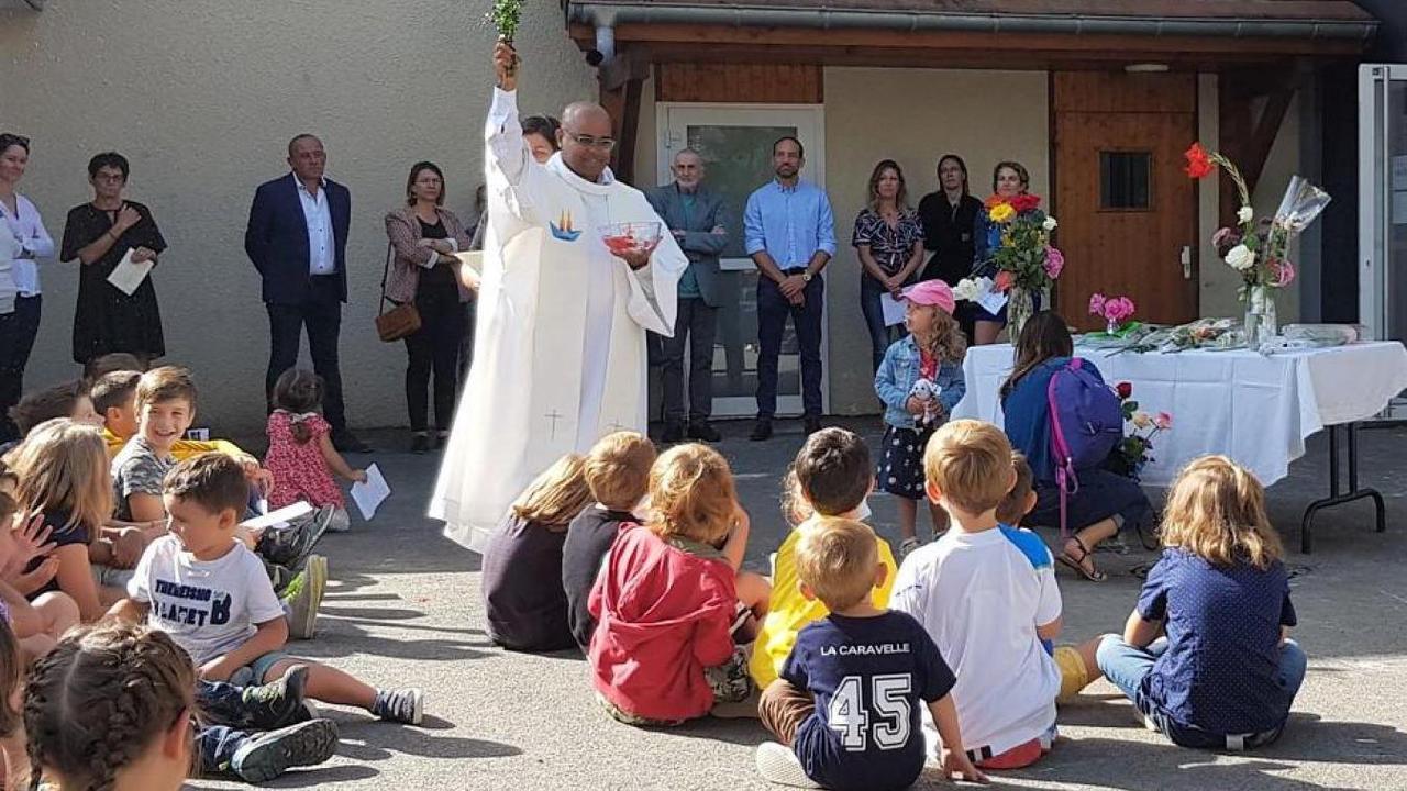 Cruseilles : l'extension de l'École Saint-Maurice inaugurée avec ferveur
