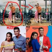 Ronaldo Posted A Photo Of Himself With Wife, Says, 'Work Done' See Photo And Reactions
