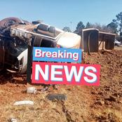 Fatal crash happens in Gauteng, these are the scenes