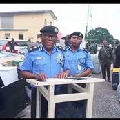 Police Arrest Looters, Display Recovered Items Stolen During EndSARS Protest [PHOTOS]