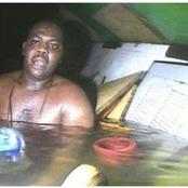 A Nigerian man survives 60 hours underwater until being discovered by divers when his vessel capsized