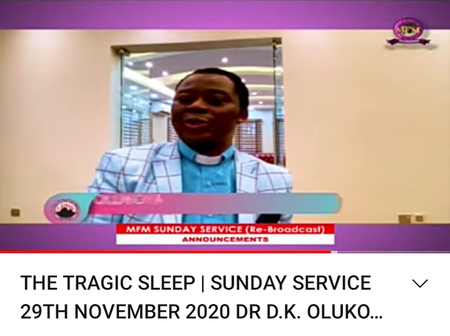 Olukoya releases prayer points for people who need healing.