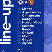 Hakim Ziyach in and Timo Werner out as Chelsea release lineup for Manchester united game