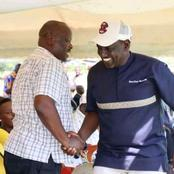 Ruto Receives A Heartly Welcome In Ilmotiook Narok
