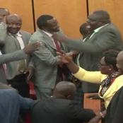 Dramatic Scene As MCAs Exchange Blows Over This Matter