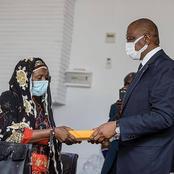 Le geste du président de la République à chaque famille des soldats morts au Mali