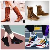 Here Are Some Trendy Boots And Sneakers For Both Male And Female
