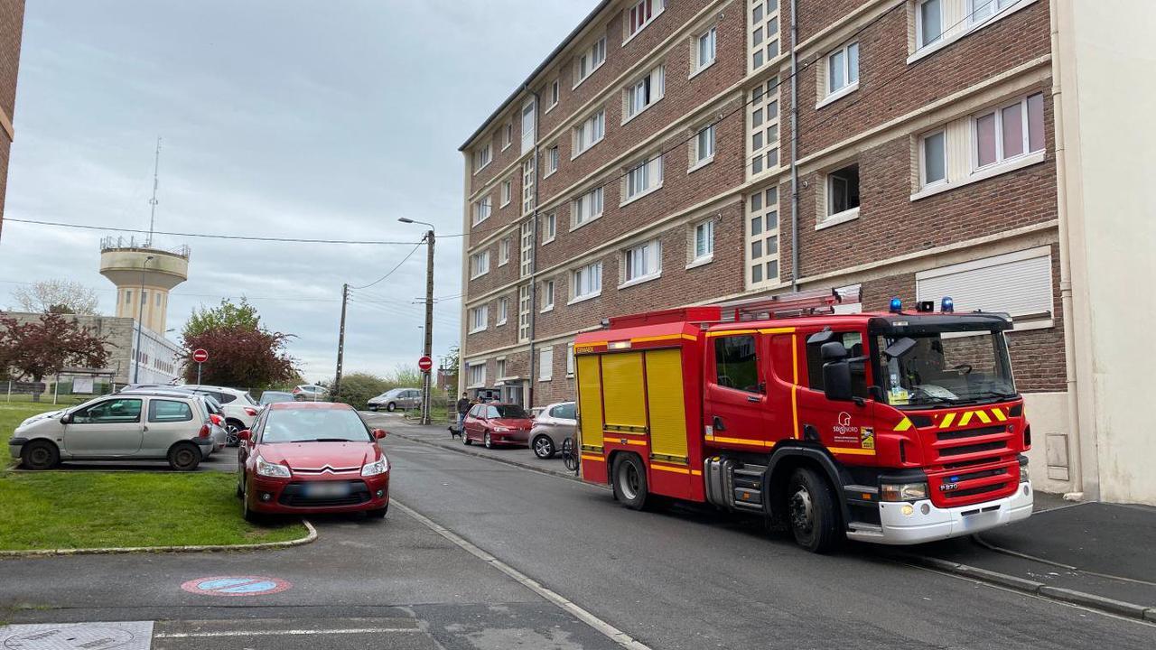 Maubeuge: feu de friteuse résidence Calmette