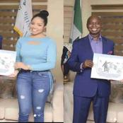 Mixed Reactions as Ned Nwoko partners with Nengi for the malaria eradication project