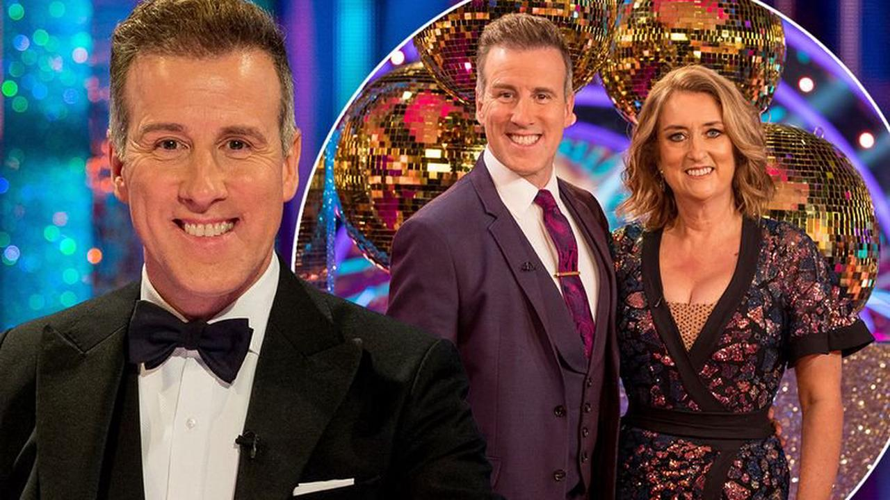 Anton Du Beke puts on sequinned underwear to cheer up wife when she's sad