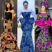 Attractive ANKARA ASOEBI dress styles for fashion slayers, (Photos)