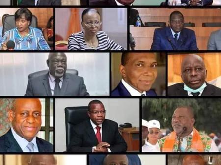 Voici la liste complète des ministres qui sortent du gouvernement