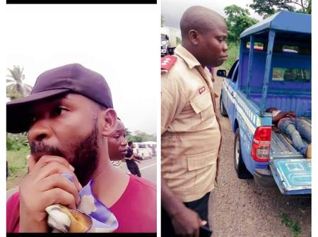 Man Narrates How God Saved Him From A Ghastly Motor Accident 2 Years Ago. Shared Photos On Facebook
