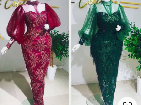 42 Superior And Impressive Aso Ebi Lace Styles For Matured Women