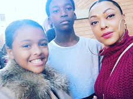 Lorcia Cooper-Khumalo and her beautiful family - pictures