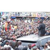 Dp Ruto Outshines The State After A Large Crowd Turned Up To Welcome Him In Kakamega