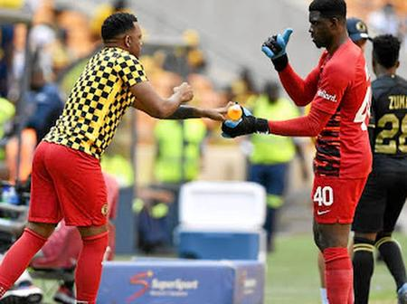 Hunt reveals the truth behind Khune playing before Akpeyi