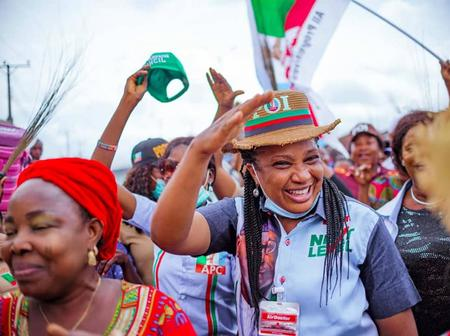 Edo Decides: 50  Pictures That Shows Mrs Idia Ize-Iyamu Is So Loved By Edo People (Photos)