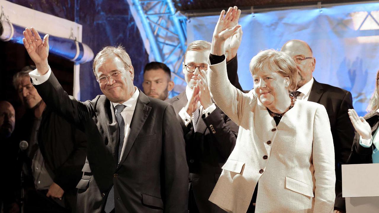 Merkel greift kurz vor Schluss in den Wahlkampf ein: Kann sie Laschet noch zum Sieg verhelfen?