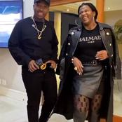 Andile Mpisane left fans speechless with his recent pictures with his mum in a club enjoying life