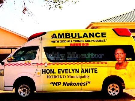 Uganda Minister Withdraws The Ambulance She Donated After Losing Election