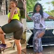 Checkout Photos Of The Nollywood Actress Who Bought A Car Today