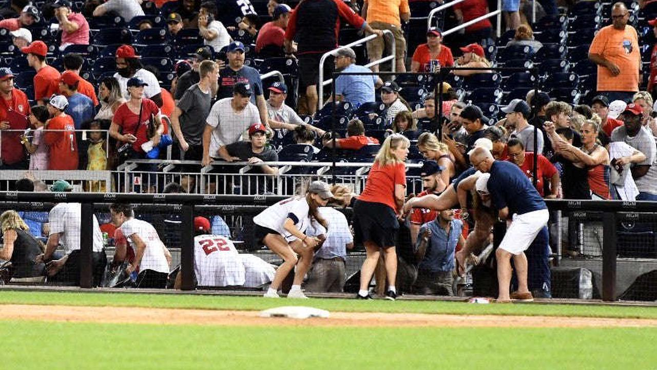 At least four injured in shooting outside of Washington Nationals stadium