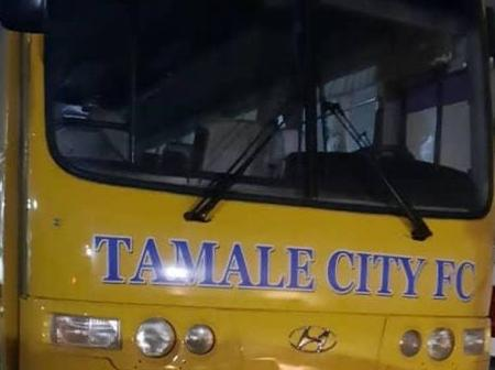 N/R: Tamale city Football Club acquired a targeted brand new bus to begin league on January 8th,2021