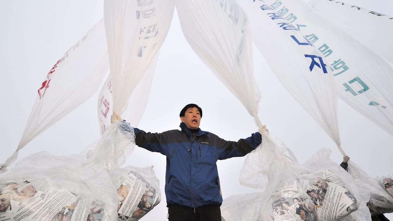 He Balloon-Dropped 500,000 Anti-Kim Flyers on North Korea—Then Cops Knocked on His Door