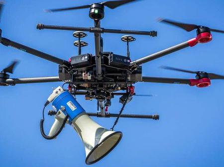 Reaction As Police Officers set to Use Drones To Arrest Lockdown Violators