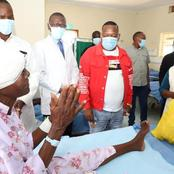 Mike Sonko Touches Thousands Of Kenyans By Visiting Beatrice At Eldoret Hospital
