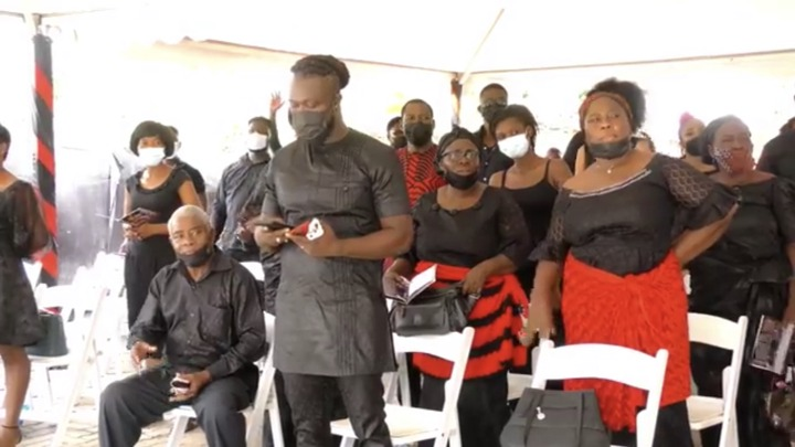 3c4401fb290849fd8ff1aee3e01b39d8?quality=uhq&resize=720 - Sad Scenes From Eddie Nartey's Wife's Funeral; Mother Of The Deceased Cries Uncontrollably- Photos