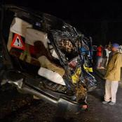 Several Passengers Injured In A Fatal Accident Involving A Matatu and A Brookside Lorry