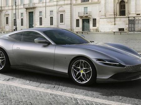 Ferrari Roma costing $347,995 to be auctioned for charity in the US