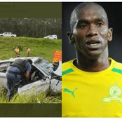 Meet the South African Footballer who died in a car crash early Monday, Today.