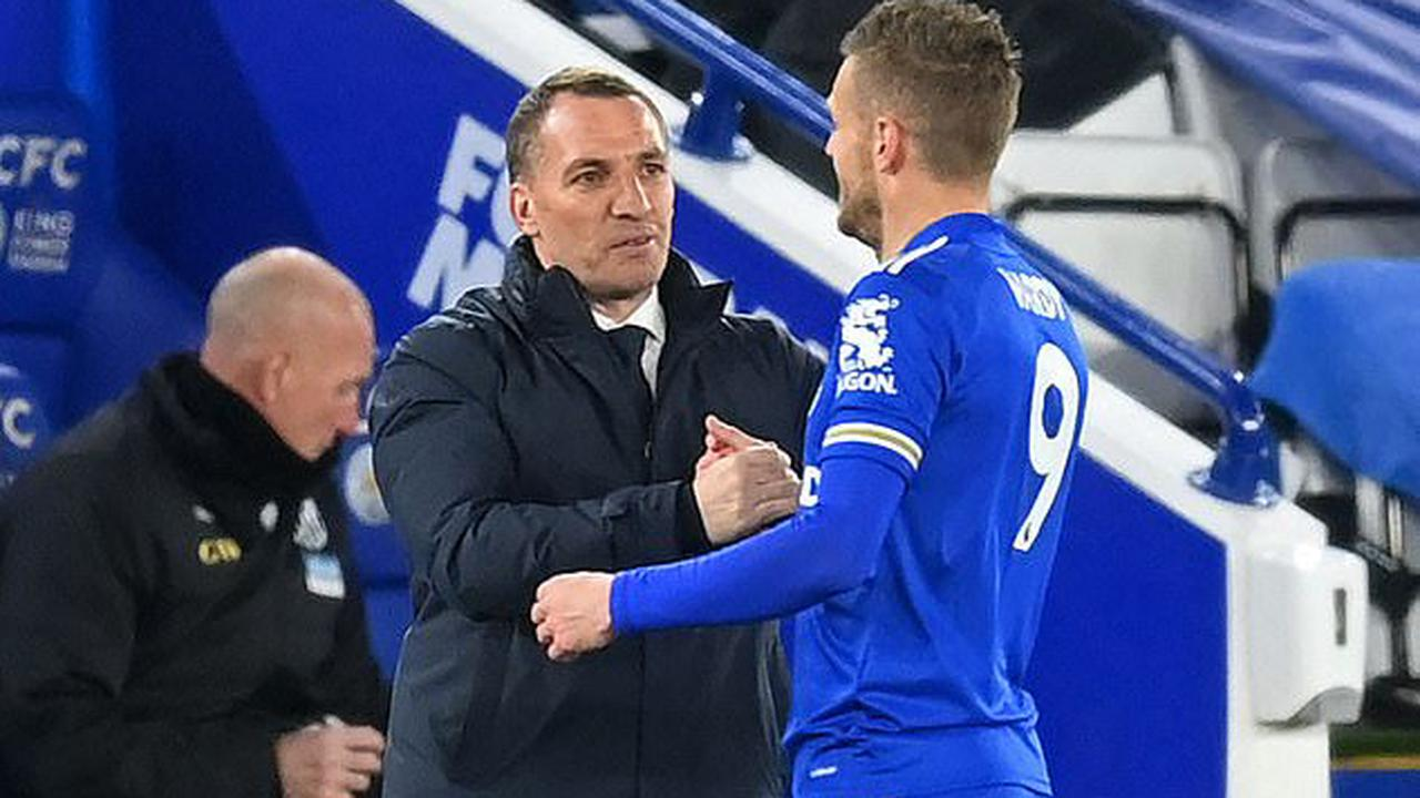 Brendan Rodgers admits he was UNHAPPY with his Leicester City side at half-time... despite the Foxes blitzing West Bromwich Albion with THREE first half goals on their way to a comfortable victory