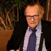 Journalist Larry dies in America