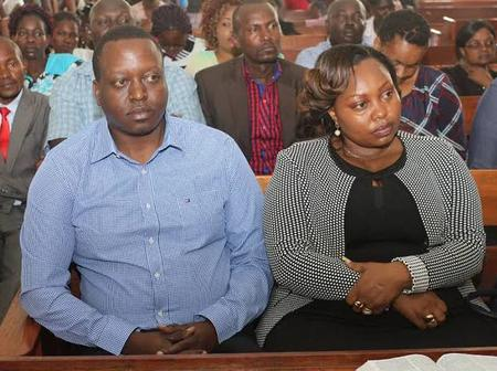 Details About Francis Nyamiobo, Husband To Nominated Senator Millicent Omanga