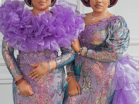 Women, Do You Have A Wedding To Attend This Saturday? See 50 Aso Ebi Styles You Can Slay With