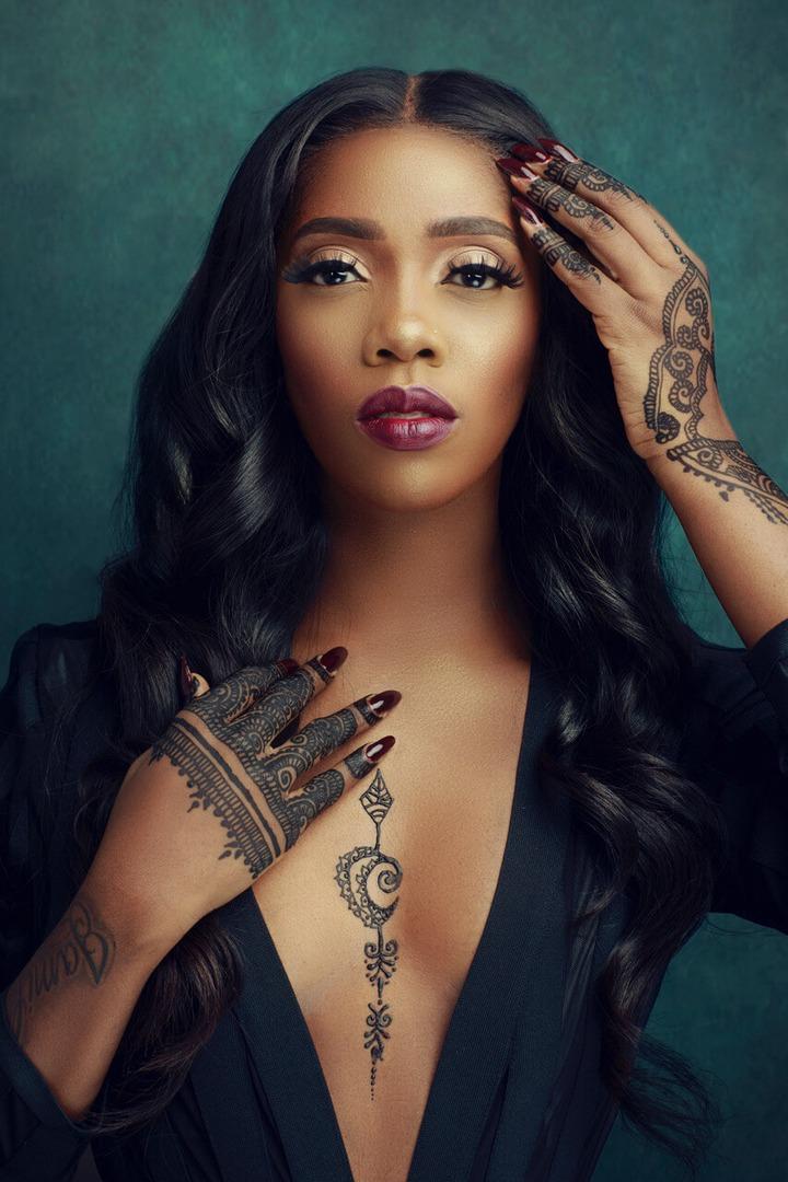 Dark skin female Nigerian celebrities