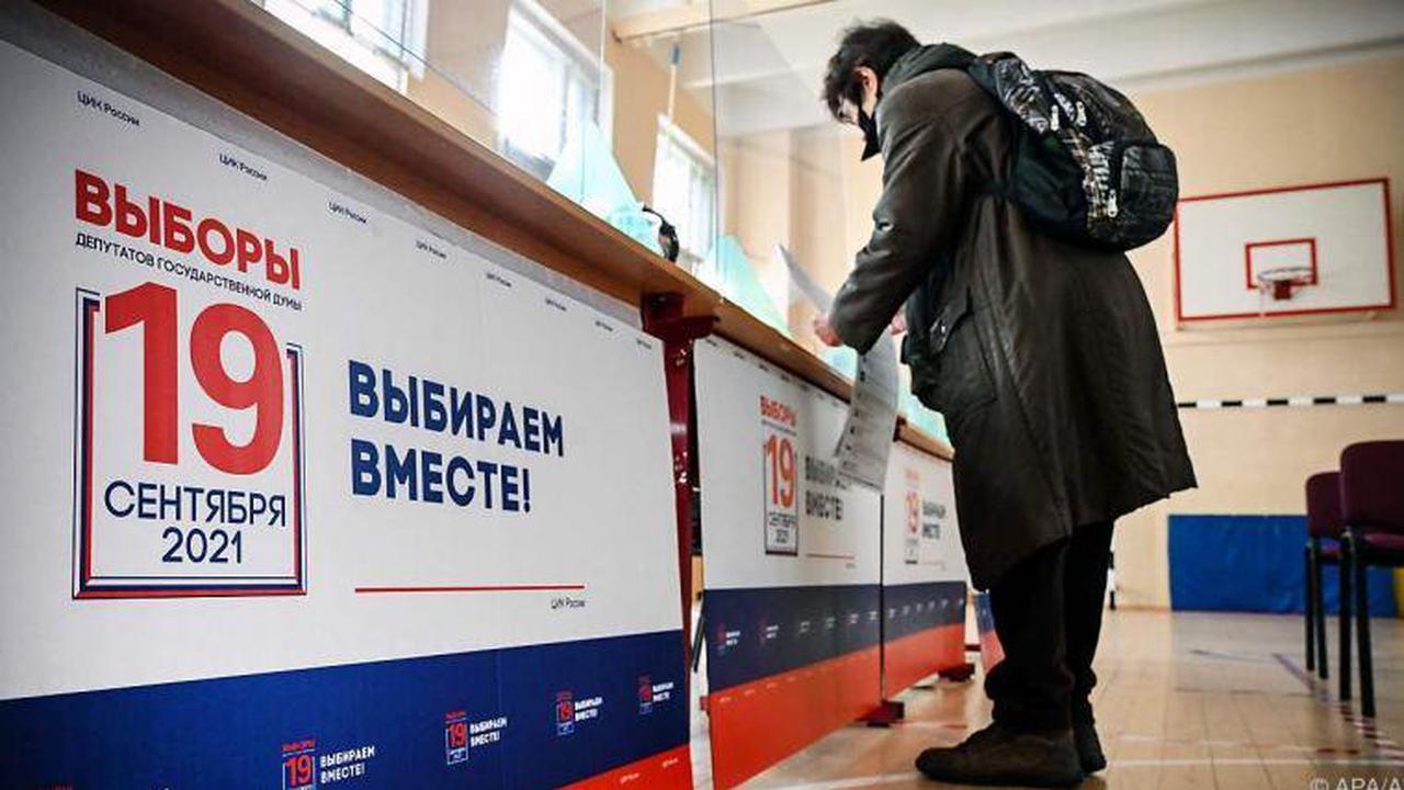 Tag der Entscheidung bei Russlands Parlamentswahl