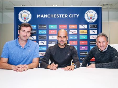 Pep Guardiola leaves heartfelt message after extending his Manchester City contract by two years