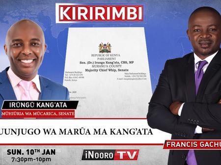 It's the Truth, BBI Will Fail in Mount Kenya! Irungu Kang'ata Answers Uhuru on Live TV Interview